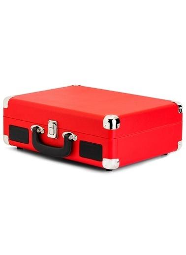 KTOOLS Ktools  Nostalgie K344 Kırmızı Bluetoothlu Çanta Pikap Renkli